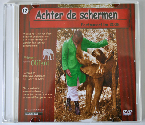 DVD Over De Weesolifantjes In Kenia 2008