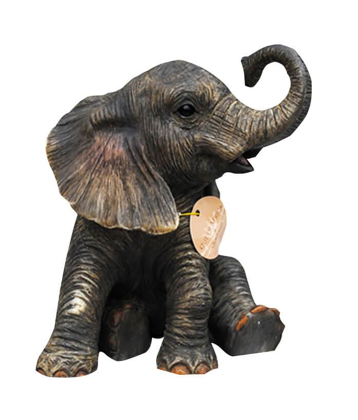 Baby-olifant Klein