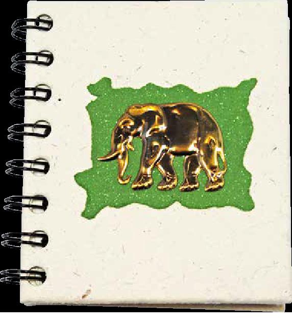 Notitieboek Klein Groen
