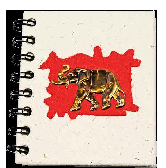 Notitieboek Klein Rood