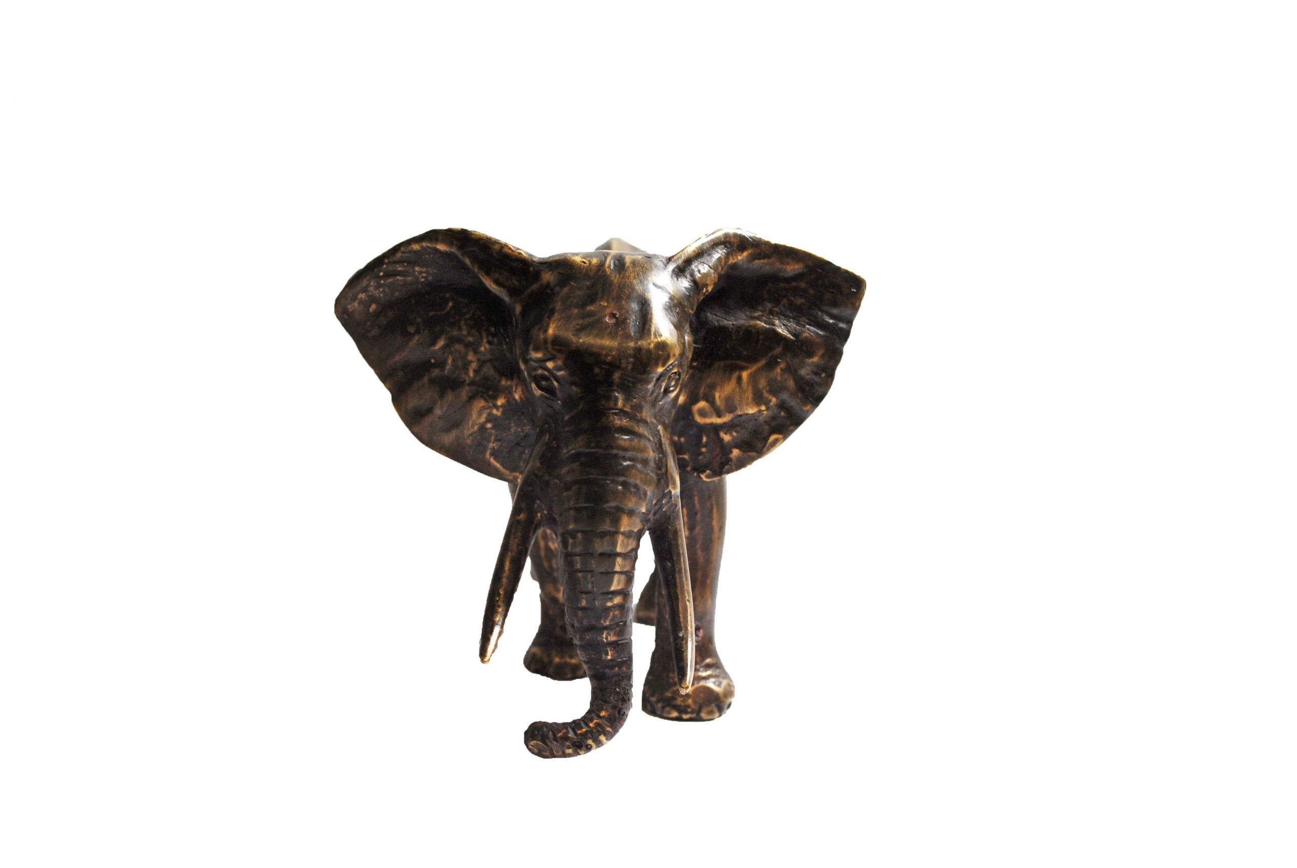 Bronzen Olifant Klein