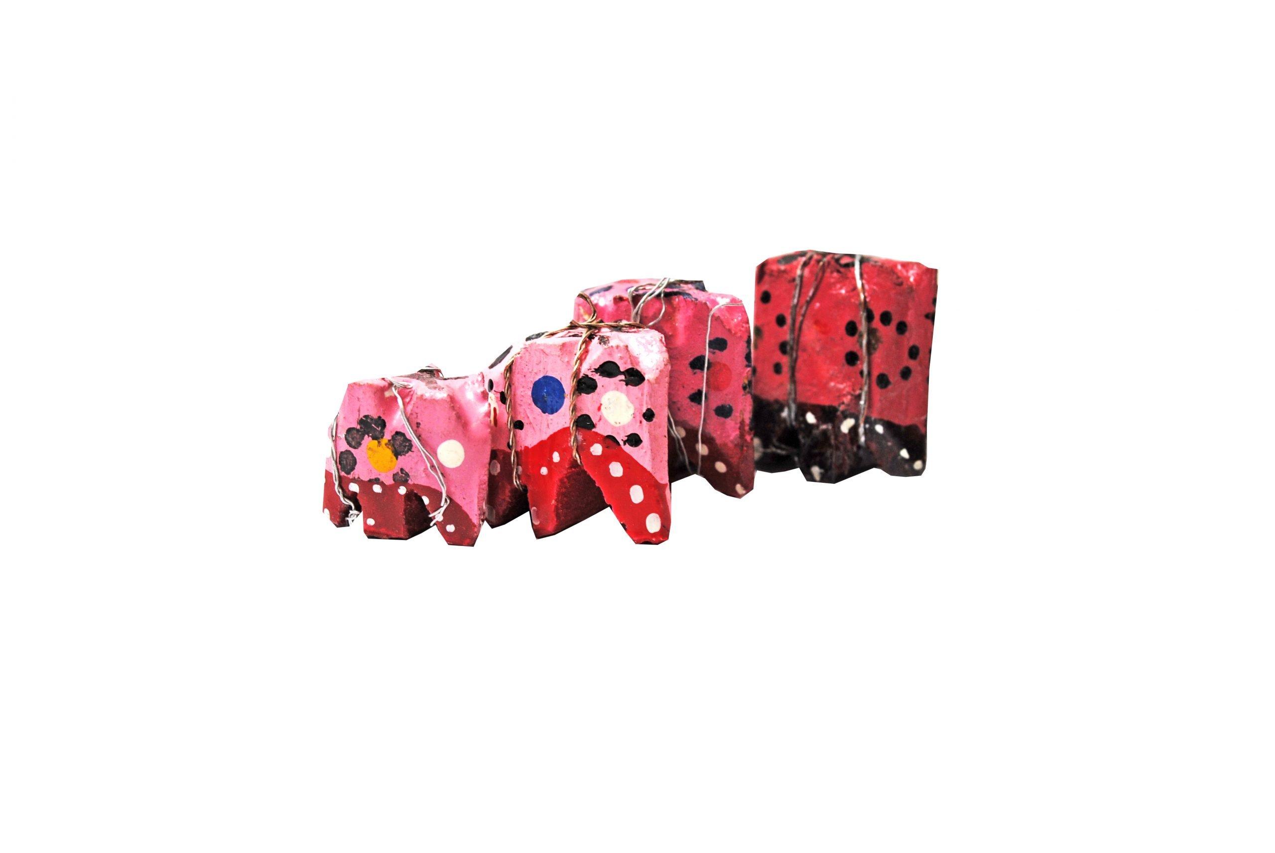Geluksolifantje Roze