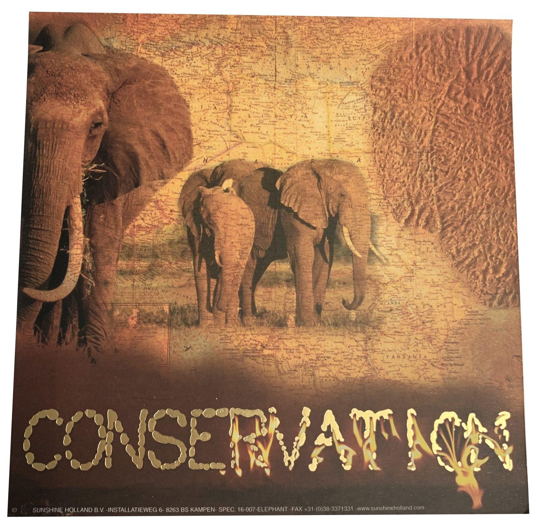 Kaart 'Conservation'