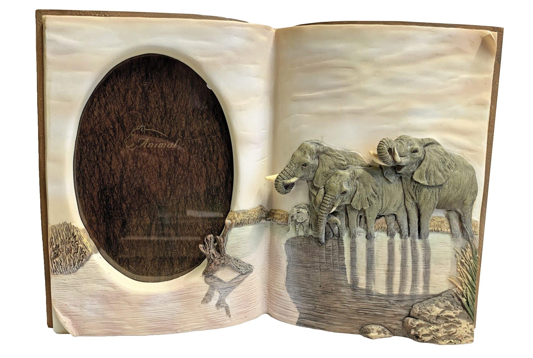 Fotolijst Boek Met Olifanten