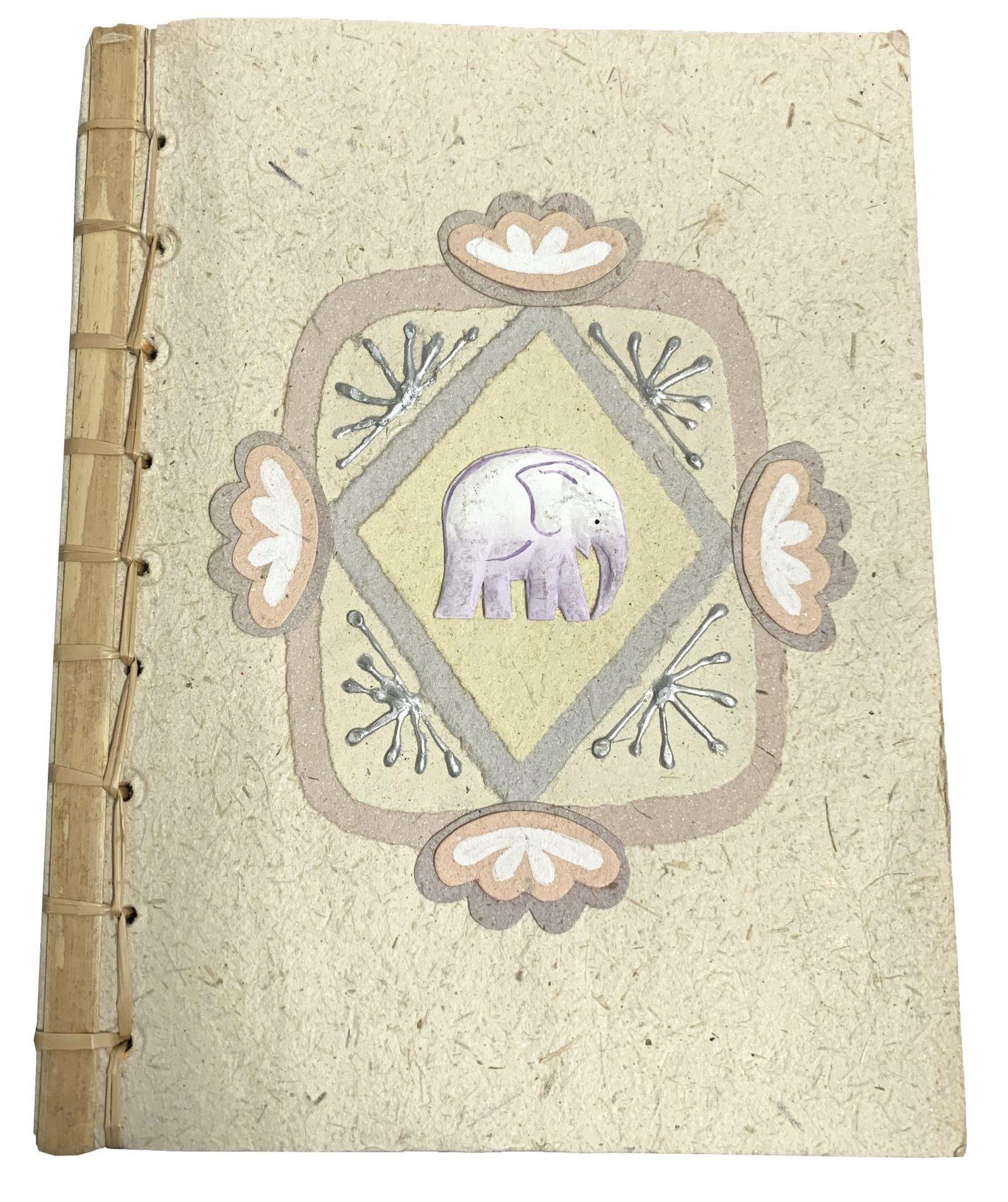 Notitieboek A5 Klein Paars Olifantje