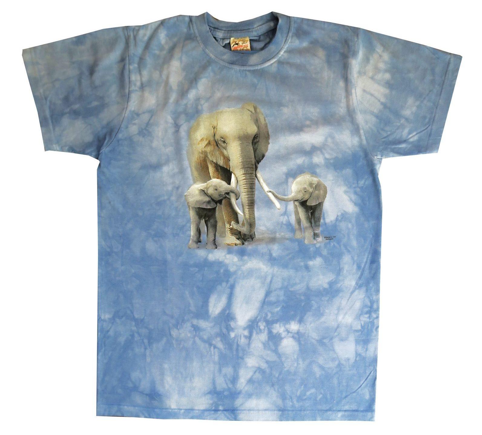 T-shirt Blauw Kinderen Maat 164