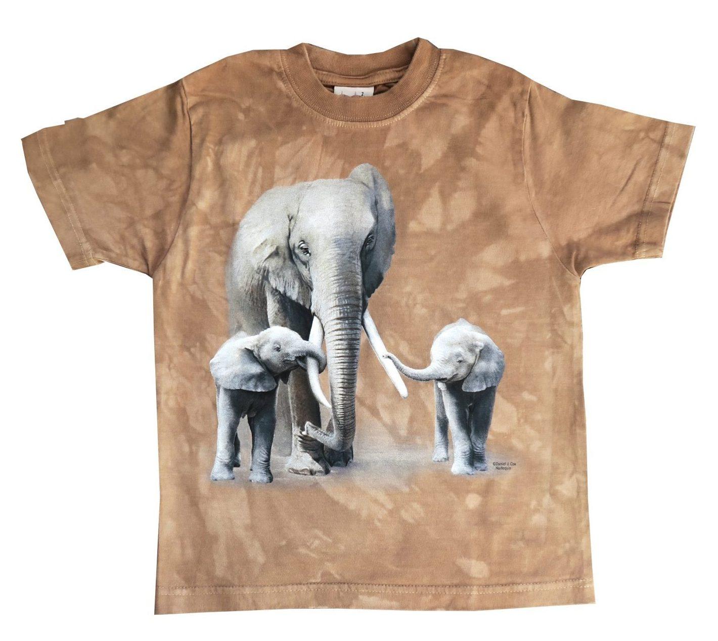 T-shirt Bruin Kinderen Maat 92
