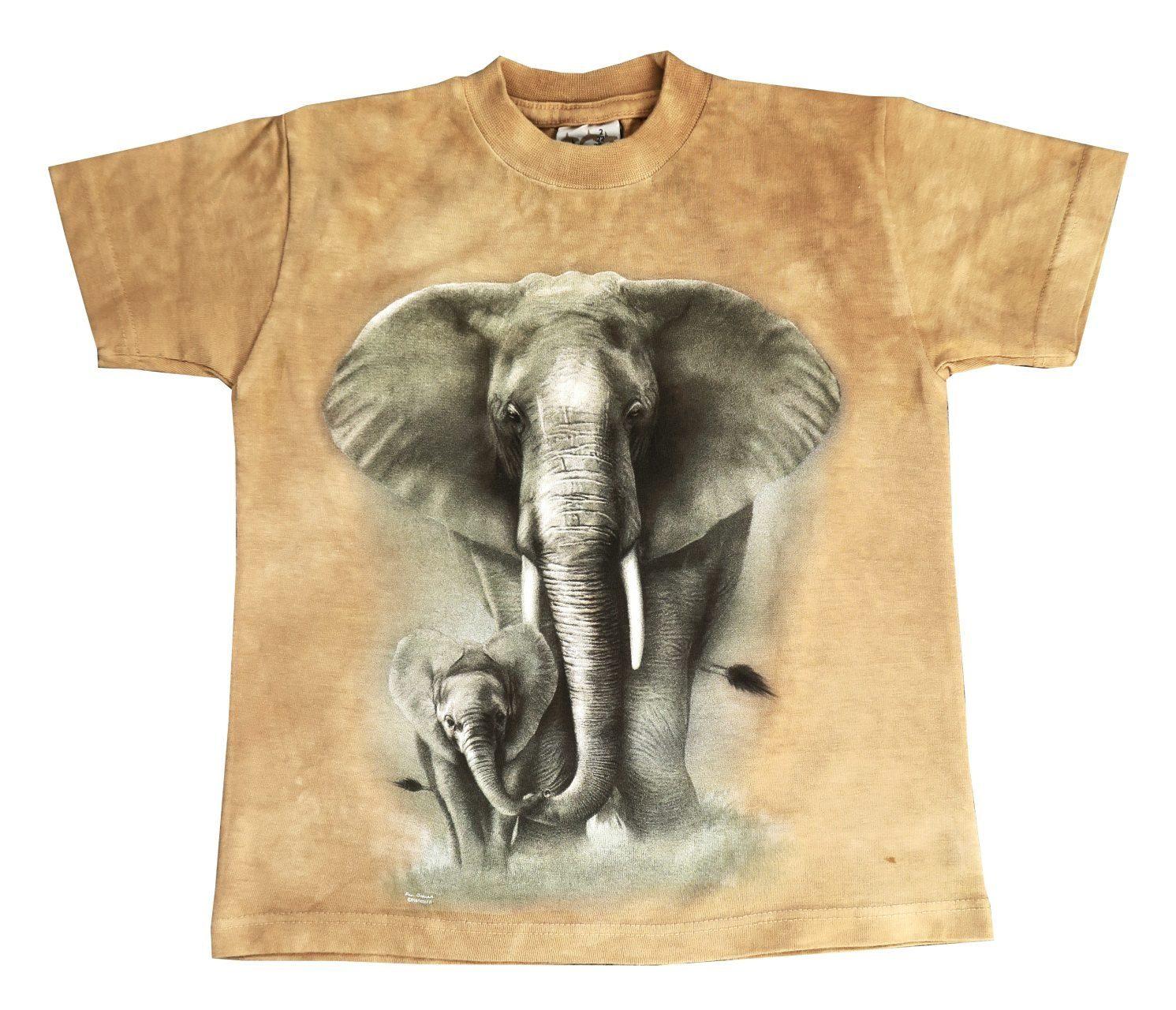 T-shirt Licht Bruin Kinderen Maat 92