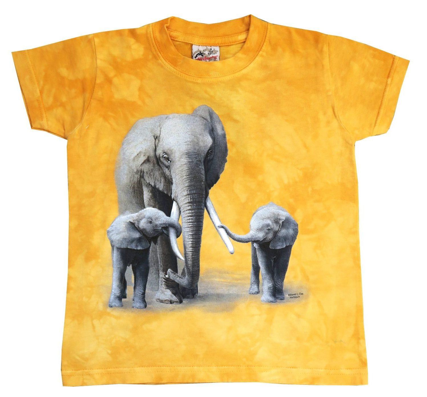 T-shirt Oranje Kinderen Maat 164