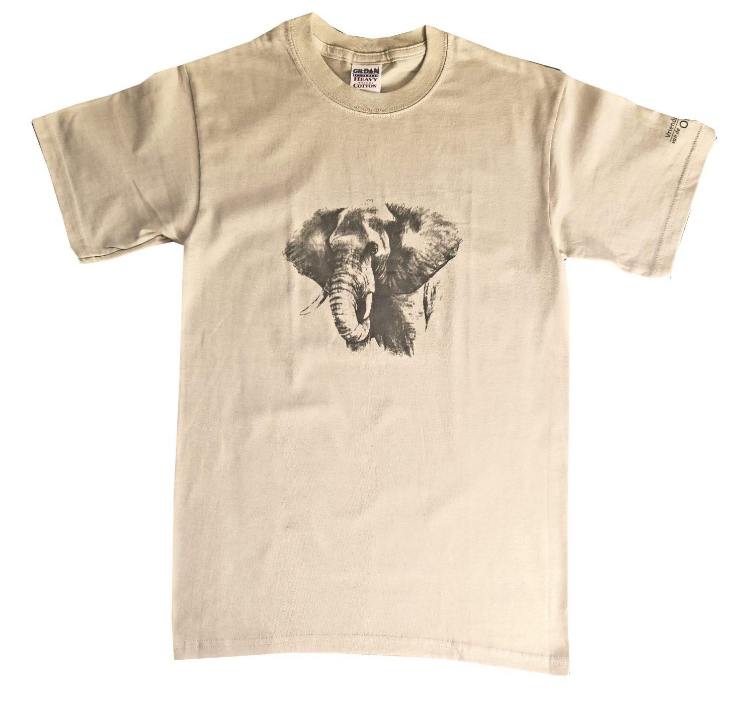 T-shirt Khaki Met Bul Maat M