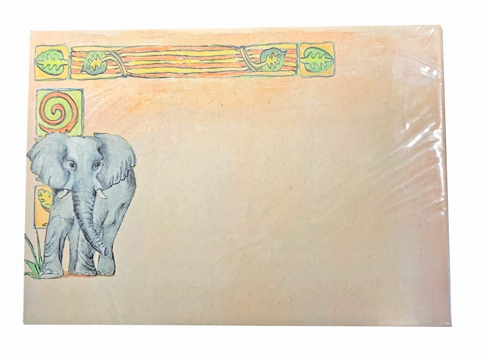 Pakje Enveloppen Afrikaanse Olifant